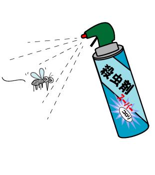蚊 殺虫剤、ボウフラ退治駆除