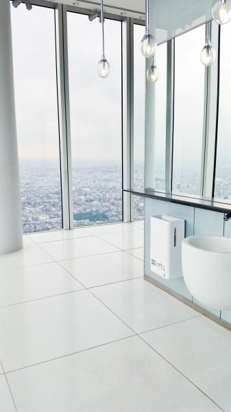 ハルカス女子トイレ59階2