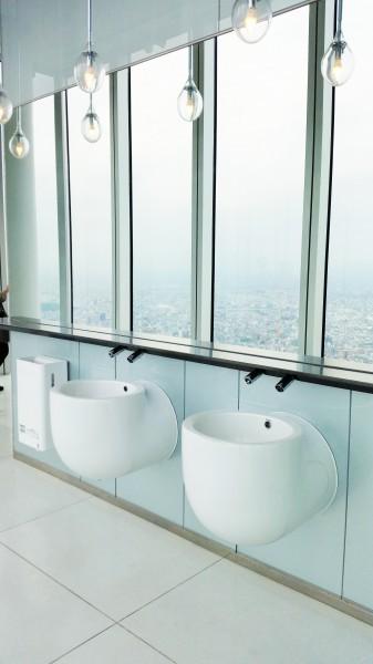 ハルカス女子トイレ59階