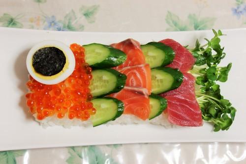 子供の日こいのぼりお寿司1
