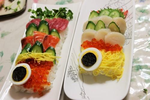 子供の日こいのぼりお寿司2