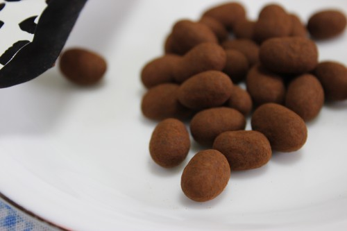 カルデイのお菓子あずきチョコ袋だし