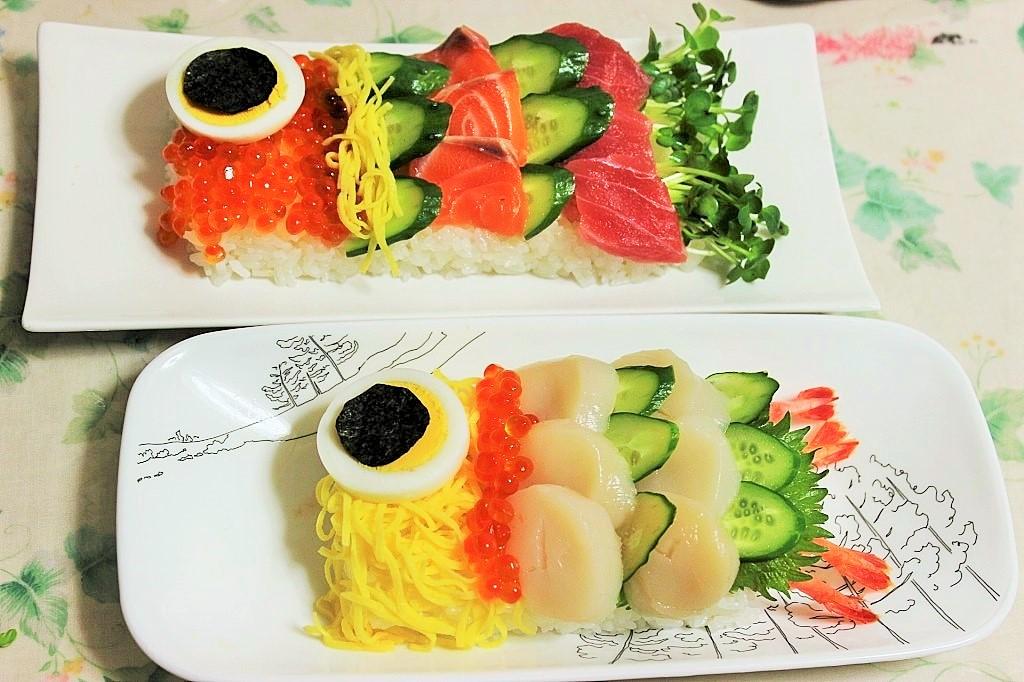 子供の日レシピこいのぼり寿司