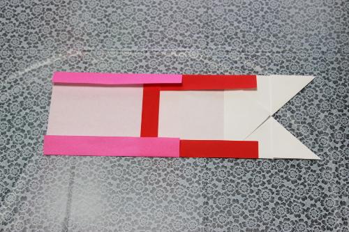 鯉のぼり折り紙作り方10