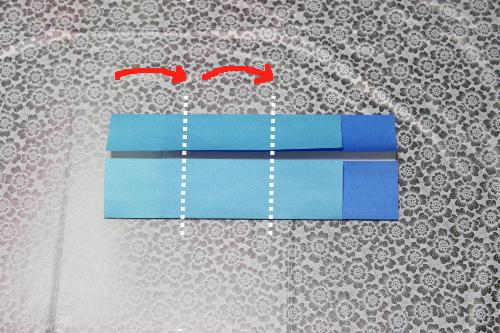 鯉のぼり折り紙子供5-2