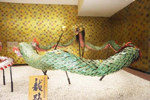 長崎くんち龍踊り用の龍